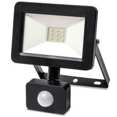Світлодіодний прожектор з датчиком руху Vestum 1-VS-3009 175-250В 10Вт 6500K IP65