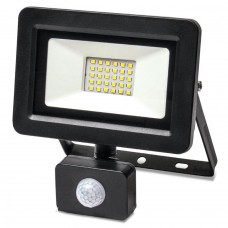 Світлодіодний прожектор з датчиком руху Vestum 1-VS-3011 175-250В 30Вт 6500K IP65