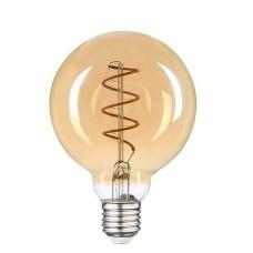 Філаментна лампа Vestum 1-VS-2503 «вінтаж» Golden Twist G95 4Вт 2500K E27