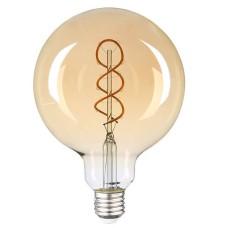 Філаментна лампа Vestum 1-VS-2603 «вінтаж» Golden Twist G125 6Вт 2500K E27