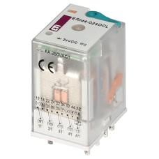 Електромеханічне реле ETI 002473007 ERM4-024DCL 4p