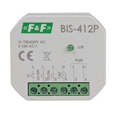 Двостабільне реле F&F BIS-412P 165-265В AC 16А