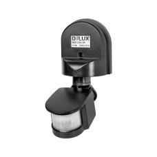 Вуличний датчик руху Delux (90011720) ST10A 180° (чорний)