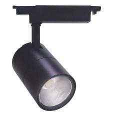 Трековий світильник Feron 6646 AL102 COB 2700К IP40 (чорний)