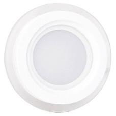 Вбудований круглий світильник Feron 6244 AL2110 12Вт 5000К 960Лм