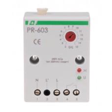 Пріоритетне реле струму F&F PR-603 230В AC 2/15А