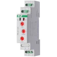 Пріоритетне реле струму F&F PR-611-01 230В AC 10А, діапазон 20-110А