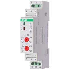 Пріоритетне реле струму F&F PR-617-02 230В AC 16А, діапазон 4-30А