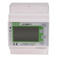 Лічильник електроенергії F&F LE-03MB-CT 3х230/400В 3х5А