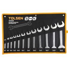 """Набір рожкових ключів Tolsen (15165) 3/8"""" (12шт)"""