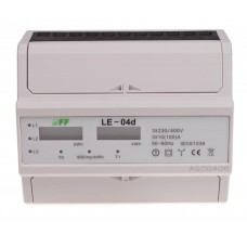 Лічильник електроенергії F&F LE-04D 3х230/400В 3х100А