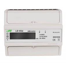 Лічильник електроенергії F&F LE-05D 3х230/400В 3х100А