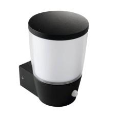 Парковий світильник KANLUX SORTA 16L-UP-SE (25681) з датчиком руху чорний