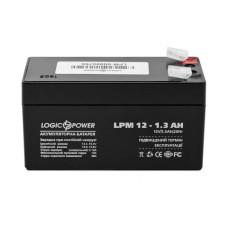Акумулятор LogicPower AGM LPM 12-1.3 AH 12В
