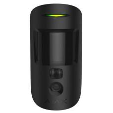 Бездротовий датчик руху Ajax 16445 з фотофіксацією Ajax MotionCam (чорний)