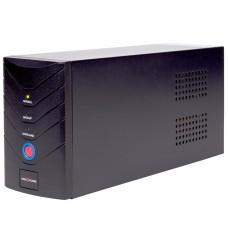 Джерело безперебійного живлення LogicPower LP8295 1700ВА на 2 євророзетки AVR 2x8.5Ач12В (1020Вт) в металевому корпусі (чорний)