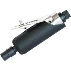Пневматична пряма шліфувальна машина Topex 74L211 1/4 25000 об/хв з набором шліфкамнів в комплекті