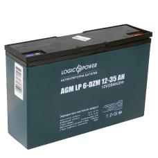 Тяговий свинцево-кислотний акумулятор LogicPower LP9335 LP 6-DZM-35