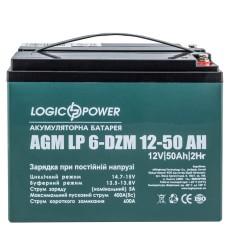 Тяговий свинцево-кислотний акумулятор LogicPower LP10063 LP 6-DZM-50
