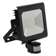 Світлодіодний прожектор KANLUX ANTRA LED50W-NW-SE B (25708) з датчиком руху чорний