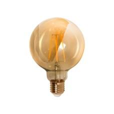 Філаментна лампа Maxus FM G95 7Вт 2200K 220В E27 Amber (1-LED-7095)