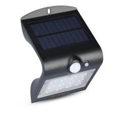 Вуличний світильник V-TAC 3800157627948 LED Solar V-TAC SKU-8277 1.5Вт 4000К з сенсором руху (чорний)