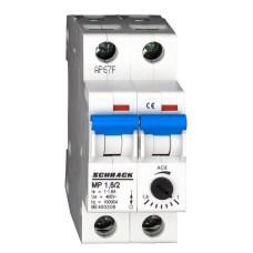 Автомат захисту двигуна Schrack BE400206 1-1,6А 2P