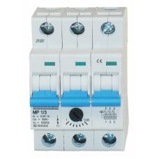 Автомат захисту двигуна Schrack BE400305 0,63-1А 3P