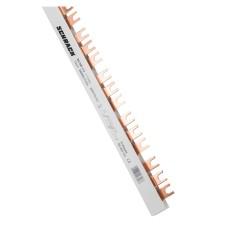 Шина з U-образними виводами Schrack BS990113 3P 10мм² 1 метр