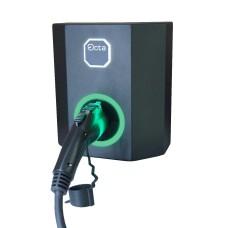Однофазна зарядна станція для електромобіля Octa Energy W107-C1 на 7кВт (Type 1)