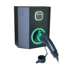 Однофазна зарядна станція для електромобіля Octa Energy W107-C2 на 7кВт (Type 2)
