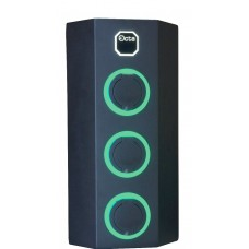 Побутова зарядна станція для електромобілів Octa Energy W336-С22-C1-C2 на 36кВт з 3 портами (Type 2 Type 1 Type 2)