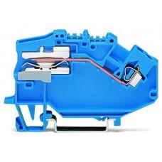 Розмикаюча N клема Wago 780-613 2,5мм² (синя)