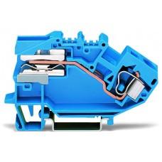 Розмикаюча N клема Wago 784-613 10мм² (синя)