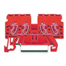 Прохідна клема Wago 870-833 для DIN-рейки 35х15 і 35х7,5 Cage Clamp®