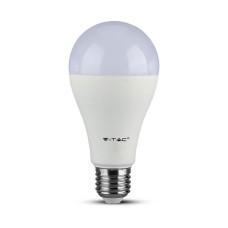 Світлодіодна лампа V-TAC 3800157627733 SKU-160 SAMSUNG CHIP Plastic A65 E27 15Вт 4000К