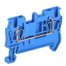 Пружинна клема IEK YZN11-001-K07 КПИ 2в-1.5 17.5 (синя)
