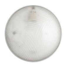 Сріблястий світильник з датчиком руху Lena Lighting Camea RCR 75Вт E27 з призматичним розсіювачем (30808351)
