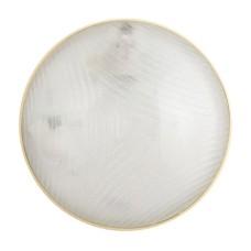 Золотистий світильник з датчиком руху Lena Lighting Camea RCR 75Вт E27 з призматичним розсіювачем (30808352)