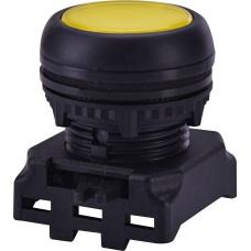 Утоплена кнопка-модуль з підсвічуванням ETI 004771252 EGFI-Y (жовта)