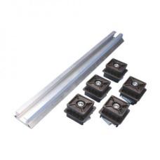 Алюмінієвий профіль для шинотримача плоского монтажу ALP 2000,2 м