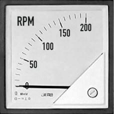 Тахометр 90˚ (шкала на замовлення) 72x72 мм