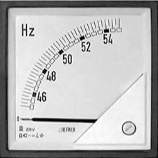 Частотомір 90˚ 55-65Гц 96x96 мм
