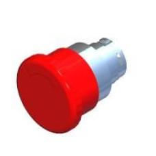 Кнопка грибоподібна з фіксацією червона