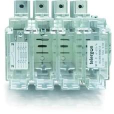 вимикач навантаження під запобіжники NH00,160А, 3P, клеми для приєднання проводу з втулковим наконечником
