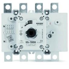 вимикач навантаження S5000 160А, 3P, приєднання проводу кільцевим наконечником (під болт)