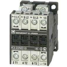 Контактор силовий 11кВт, 3Р, 24В, 50Гц/60Hz