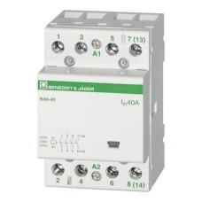 Модульний контактор 40А 3НО+1НЗ, 230В