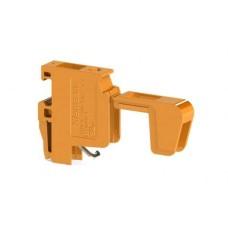 Гвинтова клема TRV 4 2 для підключення трансформаторів двовивідна, помаранчева
