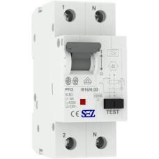 Диф автомат SEZ PFI2 B 16A/0,03A (PFI2В_16A/0,03A)